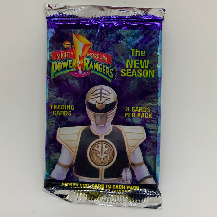 Mighty Morphin Power Rangers - The New Season - Retail Trading Card Pack