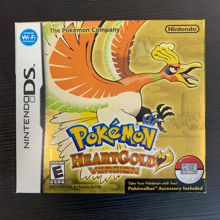 Pokemon HeartGold - Outer Box Only - No Game