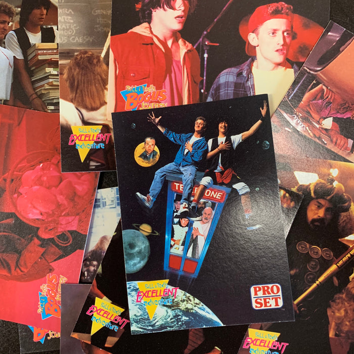Bill and Ted's most atypical movie cards Trading Card Box