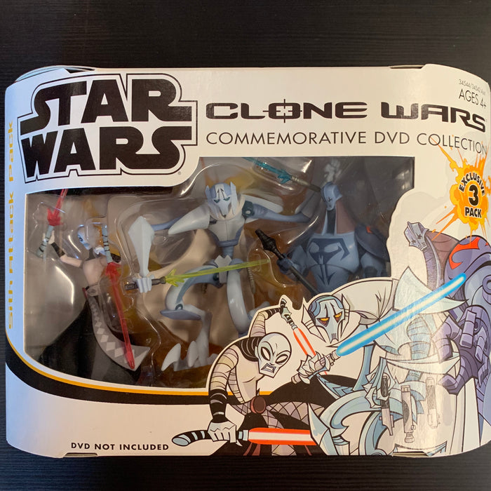 Star Wars - Clone Wars - Commemorative DVD Collection - Sith Attack Pack - Sealed