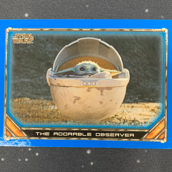 Star Wars - The Mandalorian 2020 -  021 - The Adorable Observer - Blue Border