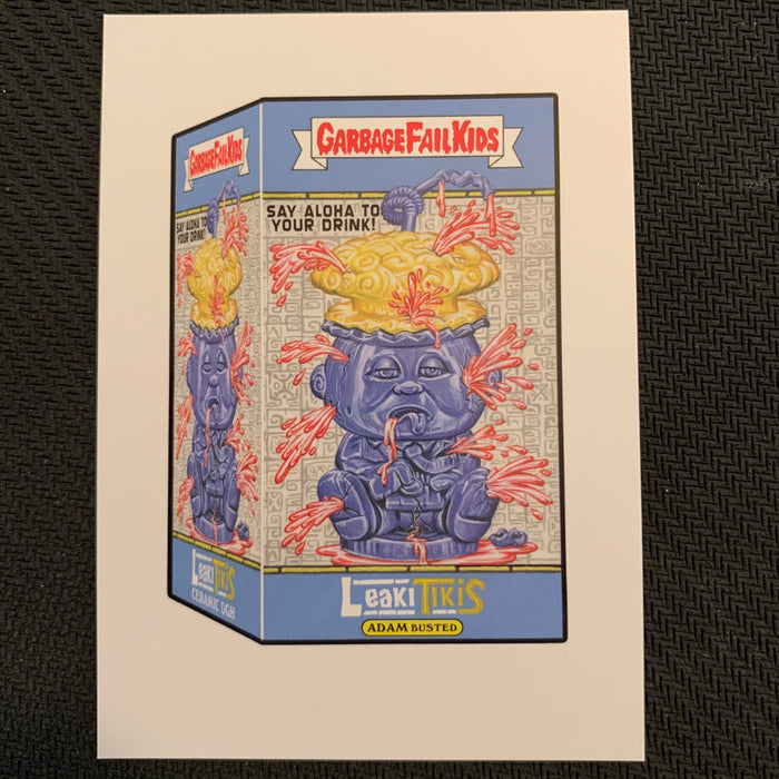 Garbage Pail Kids - 35th Anniversary 2020 - WP-01  - Leaki Tikies