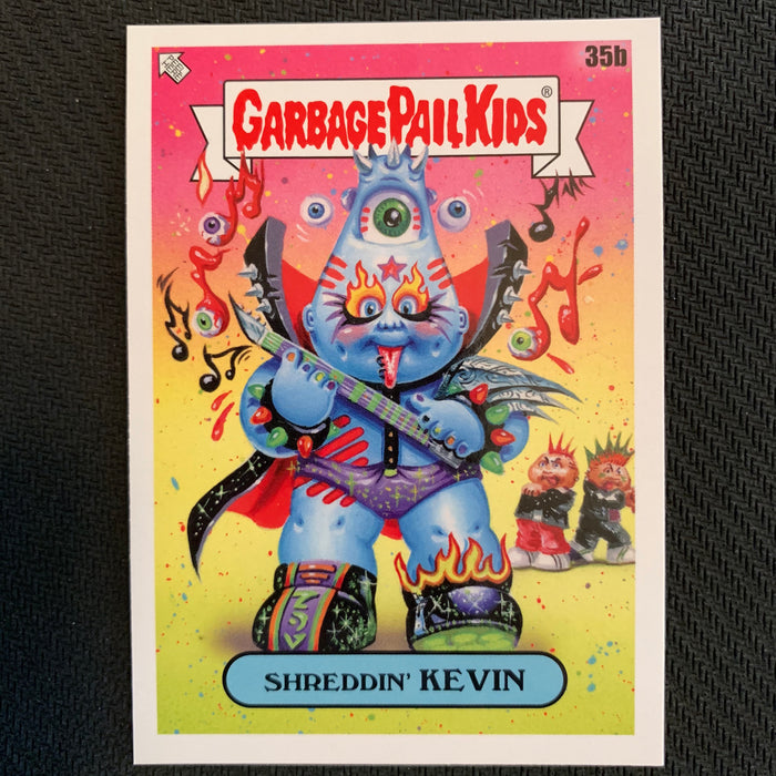 Garbage Pail Kids - 35th Anniversary 2020 - 035b - Shreddin' Kevin