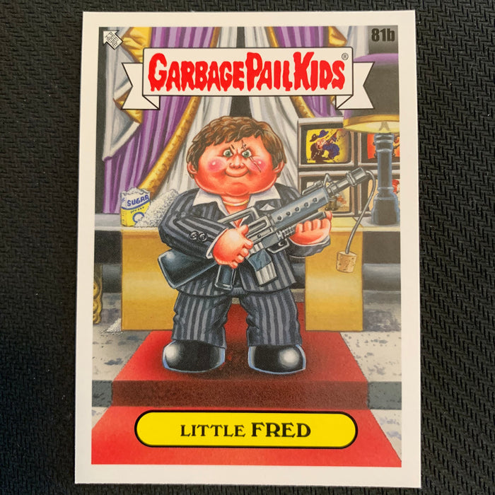 Garbage Pail Kids - 35th Anniversary 2020 - 081b - Little Fred