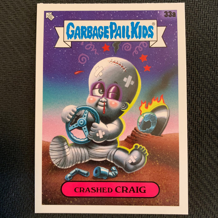 Garbage Pail Kids - 35th Anniversary 2020 - 033a - Crashed Craig