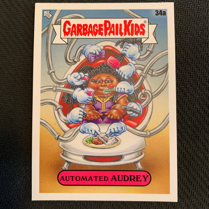 Garbage Pail Kids - 35th Anniversary 2020 - 034a - Automated Audrey