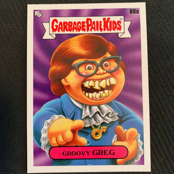 Garbage Pail Kids - 35th Anniversary 2020 - 088a - Groovy Greg