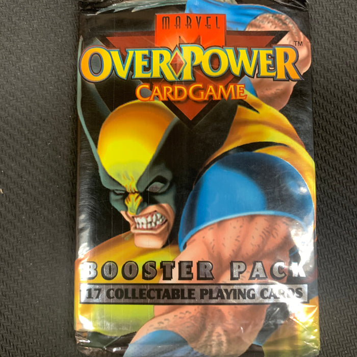 Marvel Overpower Large Booster Pack - Walmart Exclusive Trading Card Pack