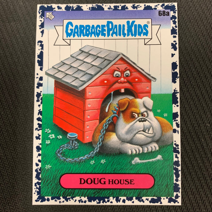 Garbage Pail Kids - 35th Anniversary 2020 - 068a - Doug House - Bruised Black Parallel