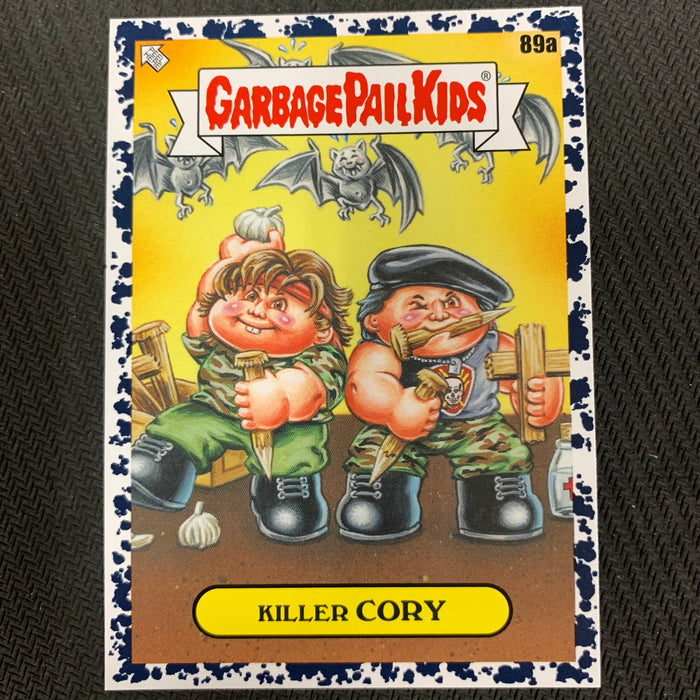 Garbage Pail Kids - 35th Anniversary 2020 - 089a - Killey Cory - Bruised Black Parallel