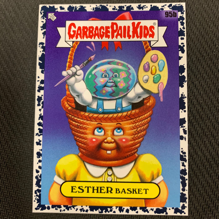 Garbage Pail Kids - 35th Anniversary 2020 - 095b - Esther Basket - Bruised Black Parallel