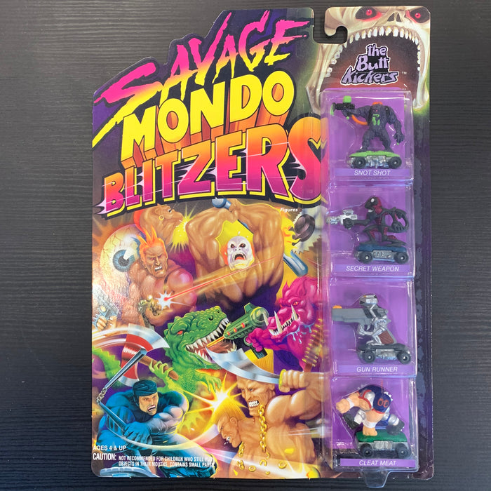Savage Mondo Blitzers - The Butt Kickers - in Package