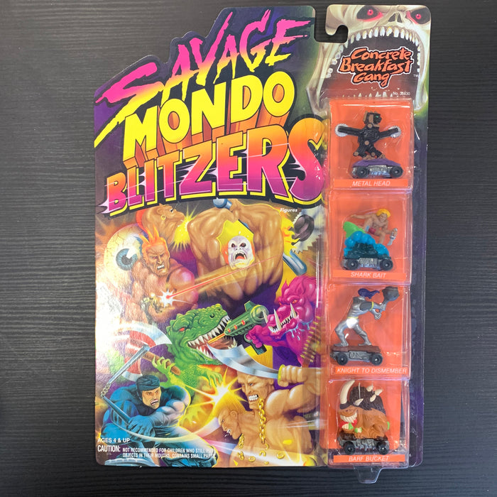 Savage Mondo Blitzers - Concrete Breakfast Gang - in Package