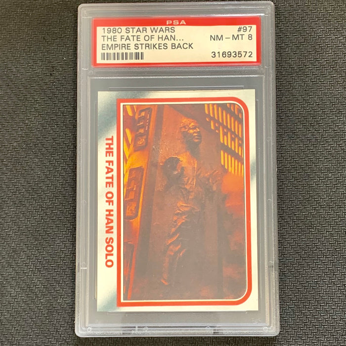 Star Wars  - Empire Strikes Back 1980 - 097 - PSA 8