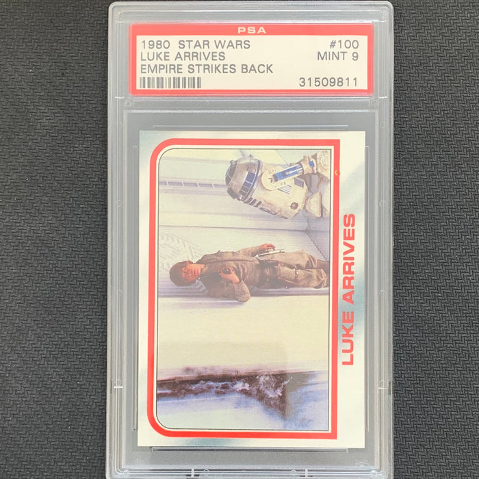 Star Wars  - Empire Strikes Back 1980 - 100 - PSA 9