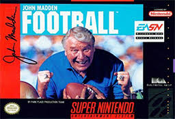 Madden Football  - SNES - Loose