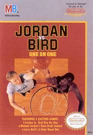 Jordan vs Bird - One on One - NES - Loose