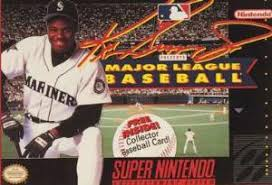Ken Griffey Jr Presents Major League Baseball  - SNES - Loose