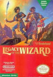 Legacy of the Wizard - NES - Loose