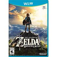 Legend of Zelda - Breath of the Wild - Wii U - in Case