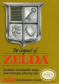 Legend of Zelda -Grey Cart - NES - Loose