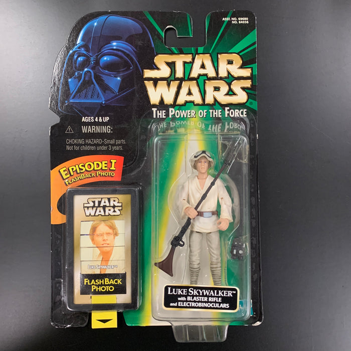 Star Wars - Power of the Force - Luke Skywalker with Blaster Rifle and Electrobinoculars