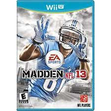 Madden 13 - Wii U - in Case