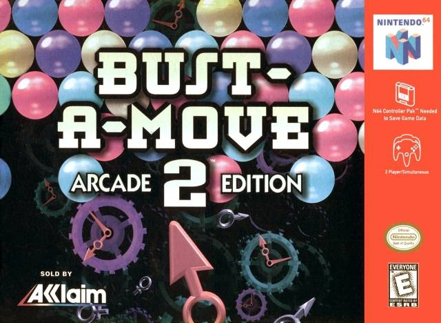 Bust-a-Move 2 - N64 - Loose
