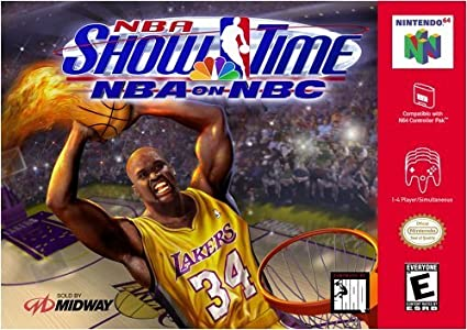 NBA Showtime - N64 - Loose