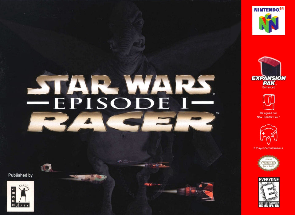 Star Wars Episode 1 Racer - N64 - Loose