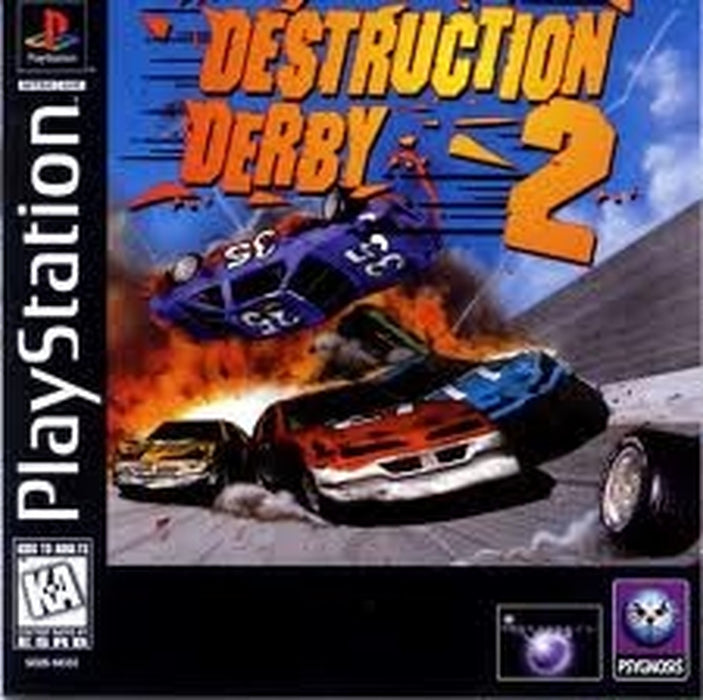 Destruction Derby 2 - Playstation 1 - Complete