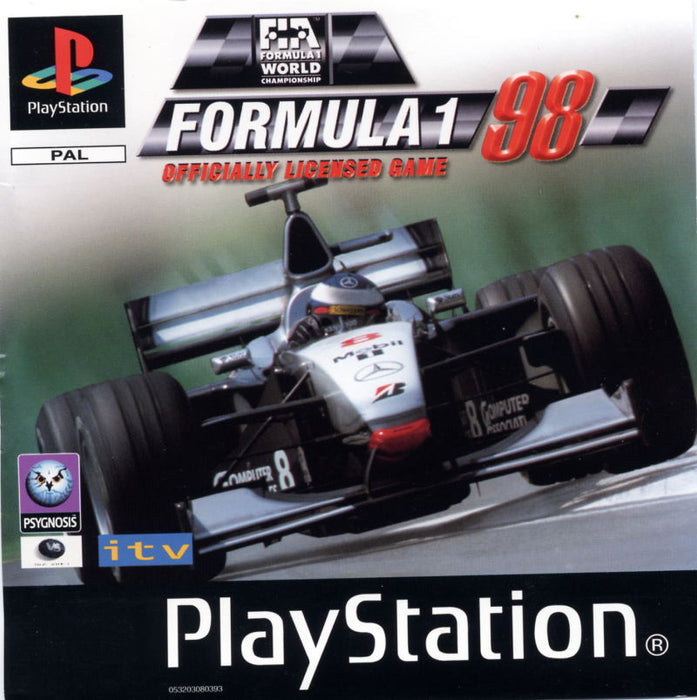 Forumla 1 98 - Playstation 1 - Complete