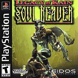 Legacy of Kain - Soul Reaver - Playstation 1 - Complete