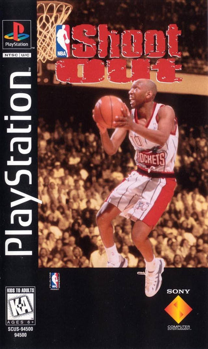 NBA Shoot Out - Long Box - Playstation 1 - Complete