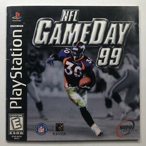 NFL Gameday 1999 - Playstation 1 - Complete