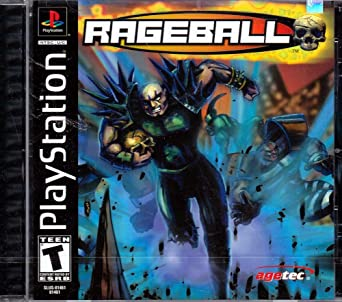 Rageball - Playstation 1 - Complete