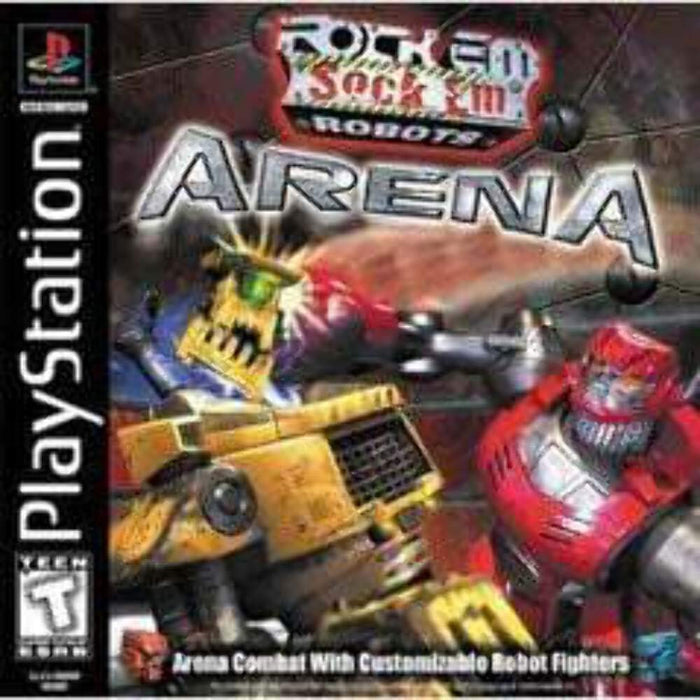 Rock Em Sock Em Robots Arena - Playstation 1 - Complete