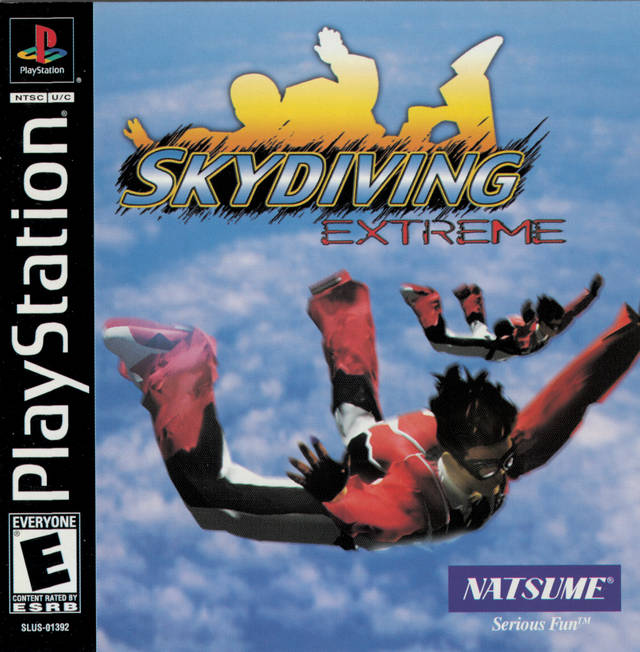 Skydiving Extreme - Playstation 1 - Complete