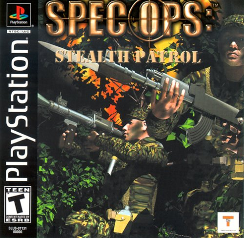 Spec Ops - Stelth Patrol - Playstation 1 - Complete