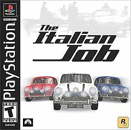 Italian Job, The - Playstation 1 - Complete