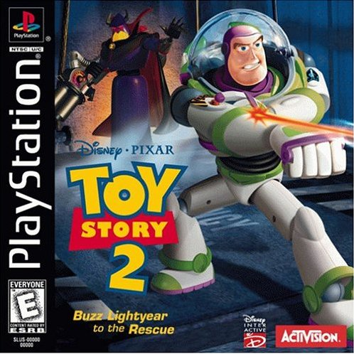 Toy Story 2 - Buzz Lightyear to the Rescue - Playstation 1 - Complete