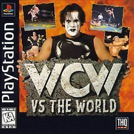 WCW vs The World - Playstation 1 - Complete