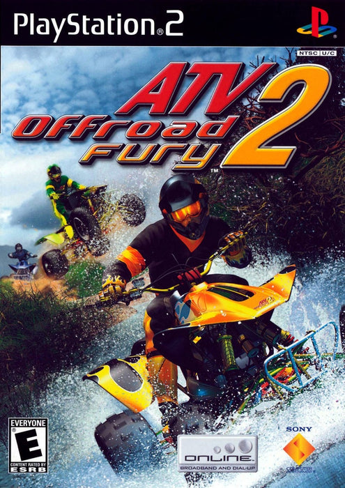 ATV Offroad Fury 2 - Playstation 2 - Complete