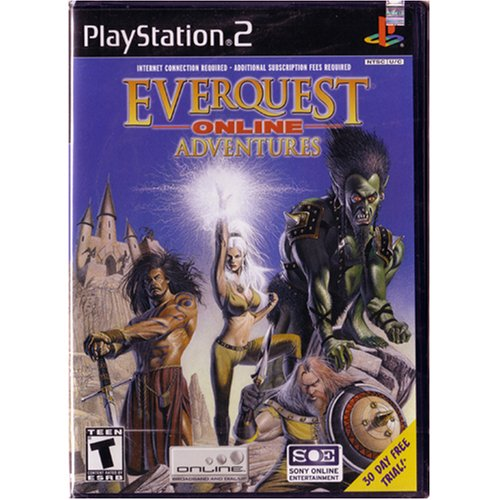 Everquest Online Adventures - Playstation 2 - Complete