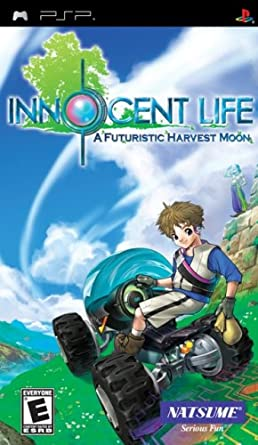 Innocent Life - A Futuristic Harvest Moon - PSP - in Case