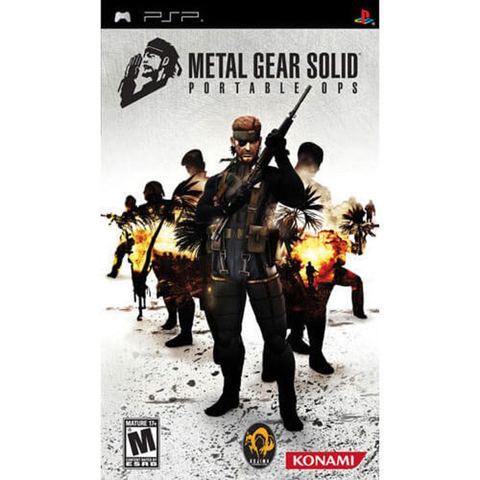 Metal Gear Solid - Portable Ops - PSP - in Case