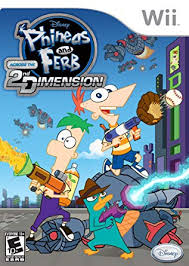 Phineas and Ferb - Across the 2nd Dimension - Wii - in Case
