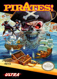 Pirates! - NES - Loose