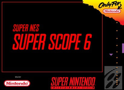 Super NES Super Scope 6  - SNES - Loose