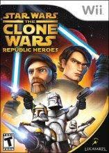 Star Wars - The Clone Wars - Republic Heroes - Wii - in Case